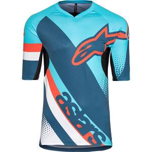 Alpinestars Racer Shortsleeve Jersey Herren atoll blue/poseidon blue atoll blue/poseidon blue