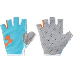 Cube Performance Kurzfinger Handschuhe blue