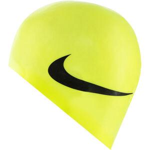 Nike Swim Big Swoosh Printed Silicon Cap volt volt