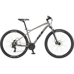 "GT Bicycles Aggressor Expert 27.5"" satin med silver satin med silver"
