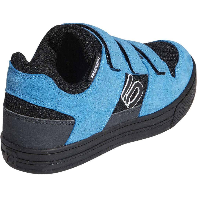 adidas Five Ten Freerider VCS Shoes Kinder core blackftwr whiteshock cyan