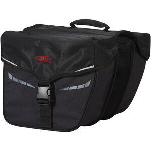 Norco Idaho Doppeltasche schwarz schwarz
