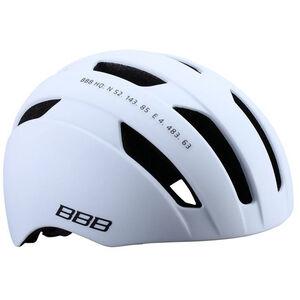 BBB Metro BHE-55 Helm weiß matt weiß matt