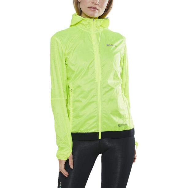 Craft Lumen Windjacke Damen yellow/black
