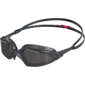 speedo Aquapulse Pro Brille oxid grey/psycho red/smoke oxid grey/psycho red/smoke