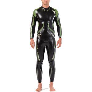 2XU Propel Pro Wetsuit Men black/neon green gecko bei fahrrad.de Online