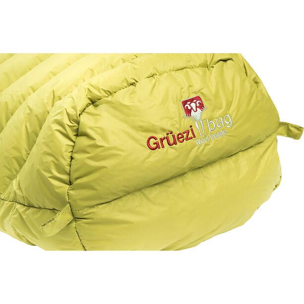 Grüezi-Bag Biopod DownWool Extreme Light 185 Sleeping Bag warm olive