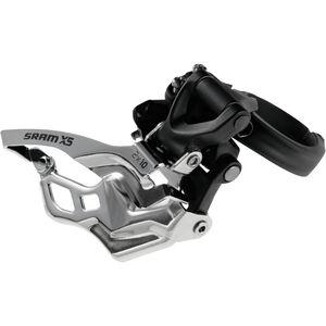 SRAM X5 Umwerfer 2x10-fach High Clamp Bottom Pull schwarz schwarz