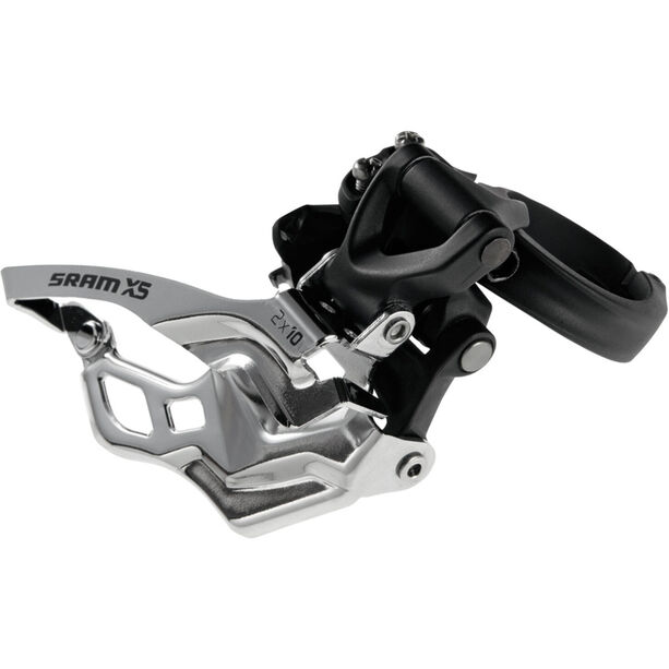 SRAM X5 Umwerfer 2x10-fach High Clamp Bottom Pull schwarz