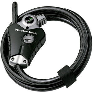 Masterlock Python Lock 8428 Kabelschloss  10 mm x 1.800 mm schwarz