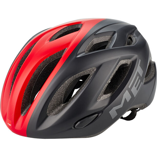 MET Idolo Helm black/red