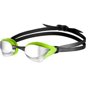 arena Cobra Core Mirror Goggles silver-green silver-green
