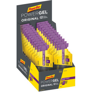 PowerBar PowerGel Original Box 24x41g Black Currant mit Koffein