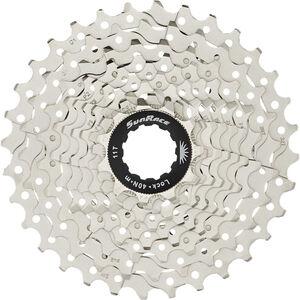 SunRace CSRS1 Kassette 10-fach mit Stahl-Spider metallic bei fahrrad.de Online