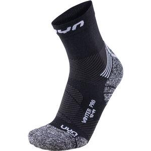 UYN Winter Pro Run Socks Men Black/Pearl Grey bei fahrrad.de Online