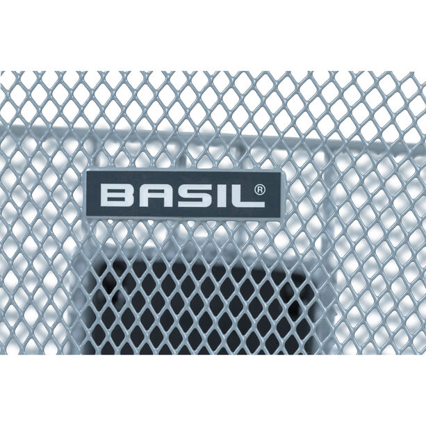 Basil Bremen Lenkerkorb mit Klickfix silver