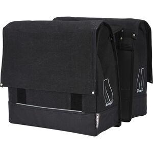 Basil Urban Fold Doppel-Gepäckträgertasche schwarz schwarz