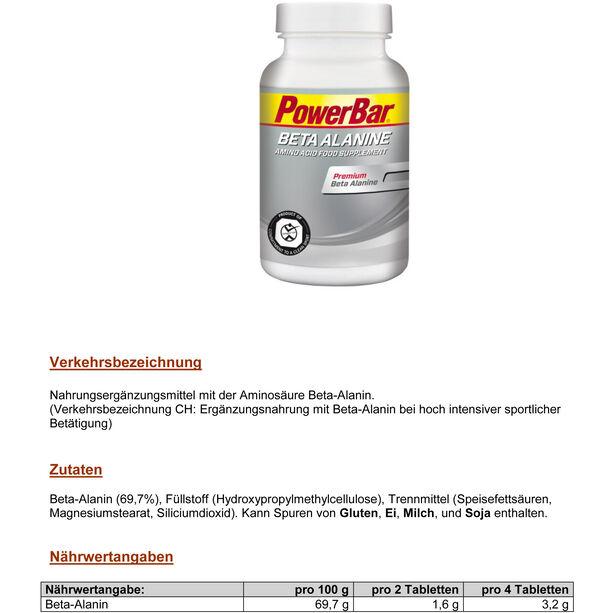 PowerBar Beta Alanine Tabletten 112 Stück