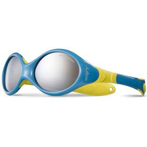 Julbo Looping III Spectron 4 Sunglasses 2-4Y Kinder blue/yellow-gray flash silver blue/yellow-gray flash silver