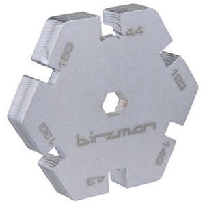 Birzman Nippelspanner silber silber