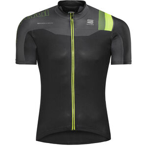 Sportful Bodyfit Pro Race Jersey black/anthracite/yellow fluo