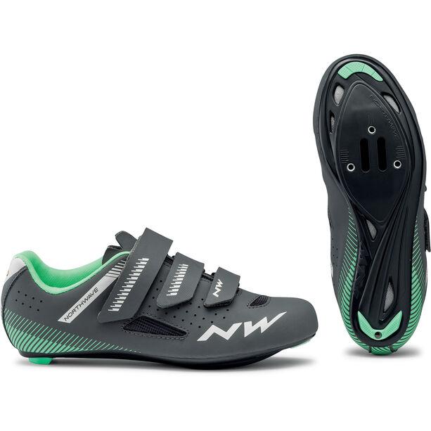 Northwave Core Schuhe Damen anthracite/light green