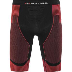 X-Bionic Effektor Power Running Pants Short Men Black/Red bei fahrrad.de Online