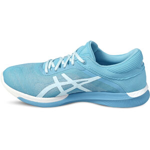 asics fuzeX Rush Shoes Damen aquarium/white/pale blue aquarium/white/pale blue