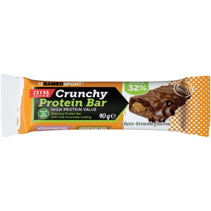 NAMEDSPORT Crunchy Proteinriegel Box 24x40g Choco Brownie