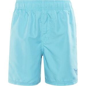 "Nike Swim Big Swoosh Logo Volley Shorts Boys 4"" Chlorine Blue bei fahrrad.de Online"