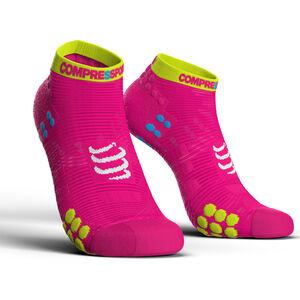 Compressport Pro Racing V3.0 Run Low Socks fluo pink fluo pink