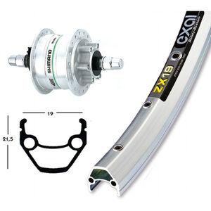 Exal V-Rad 28 x 1.75, Shimano DH3D30 silber bei fahrrad.de Online