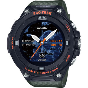CASIO PRO TREK SMART WSD-F20A-GNBAE Smartwatch Herren green/black/grey green/black/grey