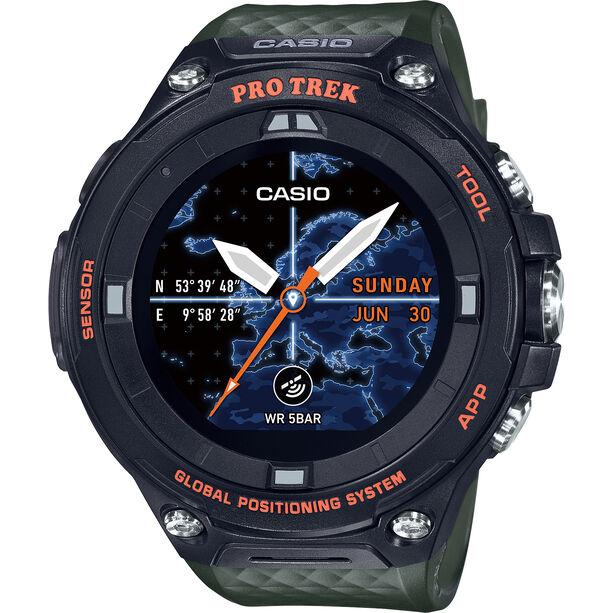 CASIO PRO TREK SMART WSD-F20A-GNBAE Smartwatch Herren green/black/grey