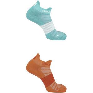 Salomon Sense Socks 2 Pack Hibiscus/Yucca