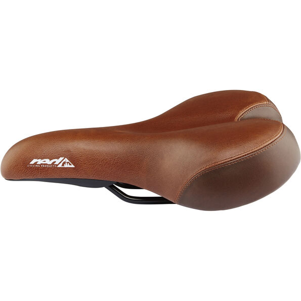Red Cycling Products City Comfort Plus Saddle braun