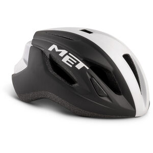 MET Strale Helm black/white panel black/white panel