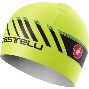 Castelli Arrivo 3 Thermo Skully Mütze yellow fluo/black yellow fluo/black