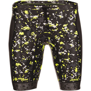 Zoot Wave Buoyancy Shorts Herren black/high-viz-yellow black/high-viz-yellow