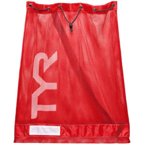 TYR Mesh Equipment Bag red red