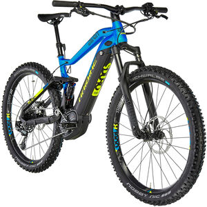 HAIBIKE SDURO FullSeven 9.0 schwarz/blau/gelb matt bei fahrrad.de Online