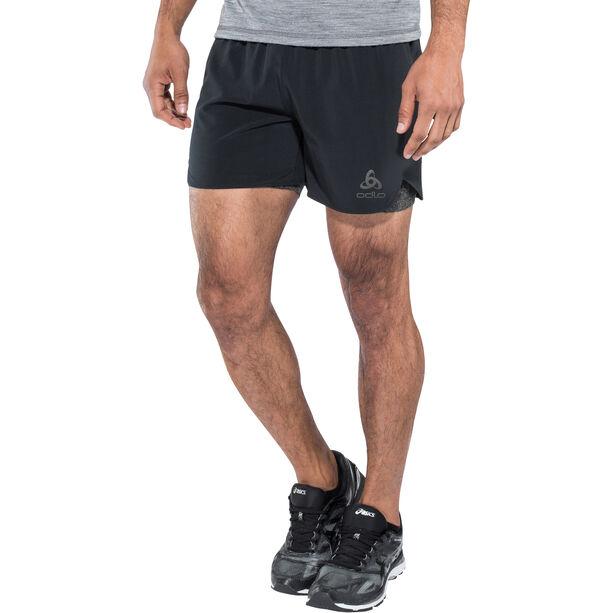 Odlo Millennium Linencool PRO 2-in-1 Shorts Herren black-black