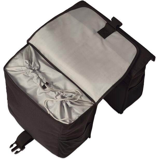 Basil GO Doppel-Gepäckträgertasche 32l black