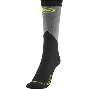 Northwave Extreme Pro High Socks Herren yellow fluo/black yellow fluo/black