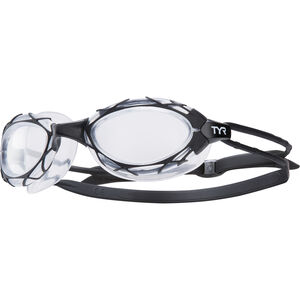 TYR Nest Pro Goggles black/clear black/clear