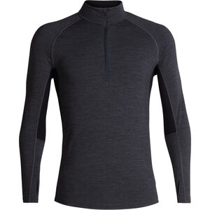 Icebreaker 200 Zone LS Half Zip Shirt Men Jet Heather/Black bei fahrrad.de Online