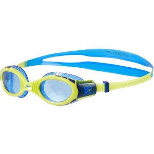 speedo Futura Biofuse Flexiseal Goggles Kinder new surf/lime punch/bondi blue new surf/lime punch/bondi blue