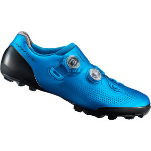 Shimano SH-XC901 Fahrradschuhe Weit Herren blau blau