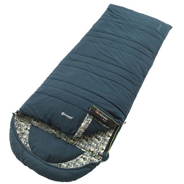 Outwell Camper Sleeping Bag petrol