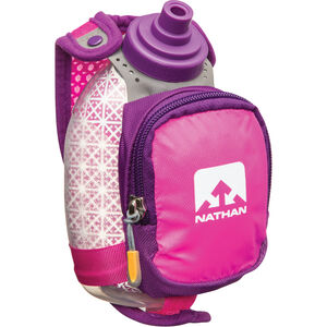 Nathan QuickShot Plus Insulated Handheld 300ml floro fuchsia/imperial purple floro fuchsia/imperial purple